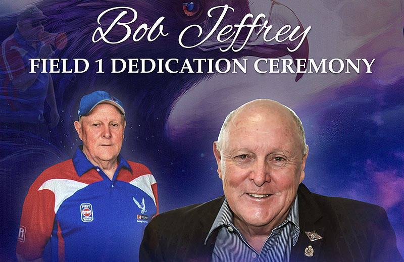 Bob Jeffrey To Be Honoured At Field Dedication Ceremony – All Welcome